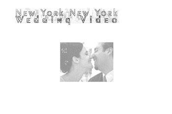 web design for a wedding video company