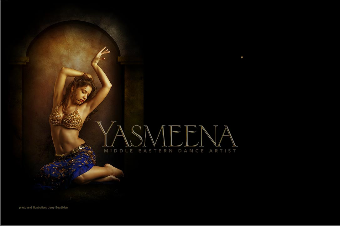 web design for a belly dancer in New York - Yasmeena