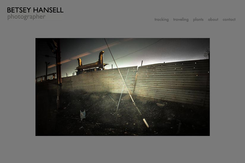 web design for a photographer