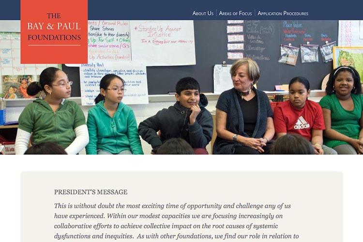 web design for a non-profit organization - by artistic web designer, Rohesia Hamilton Metcalfe