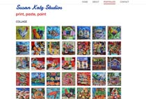 example of 100x100 square-cropped thumbnails for a website gallery